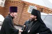 Приезд владыки Петра в день памяти свящмч Александра Соколова