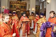 Приезд владыки Тихона в день памяти священномученика Александра Соколова